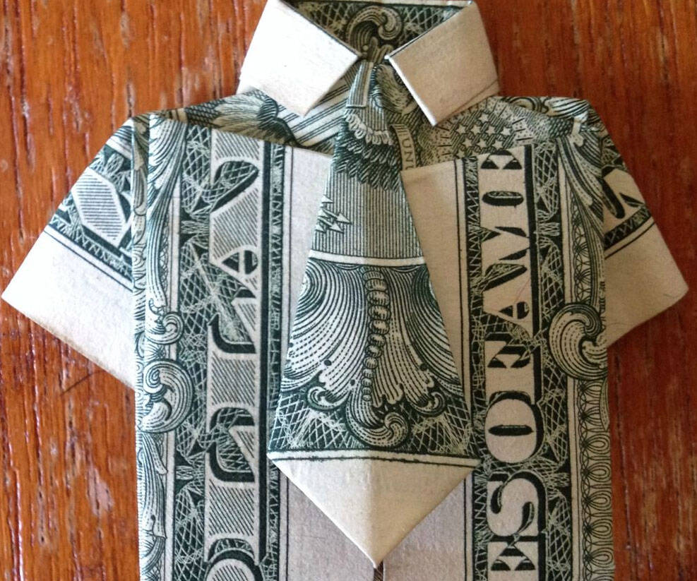 Money Origami Instruction Book - http://coolthings.us
