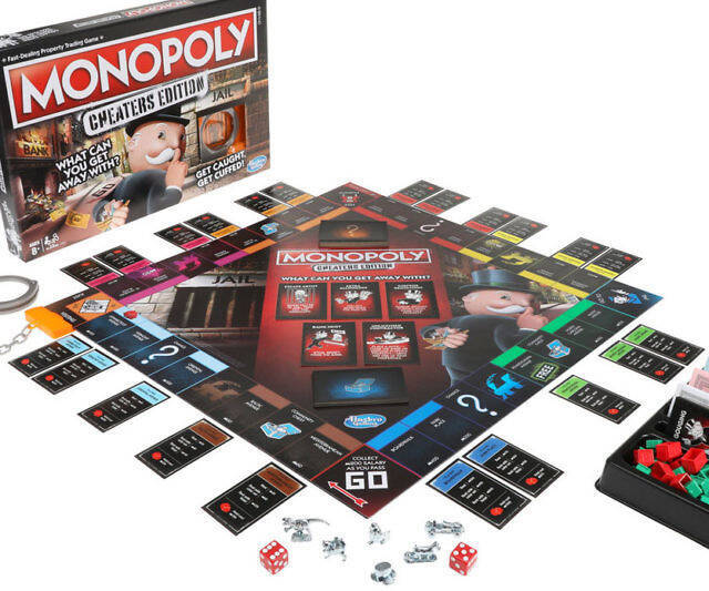 Monopoly: Cheater's Edition - http://coolthings.us