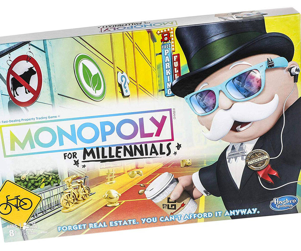 Monopoly For Millennials - http://coolthings.us