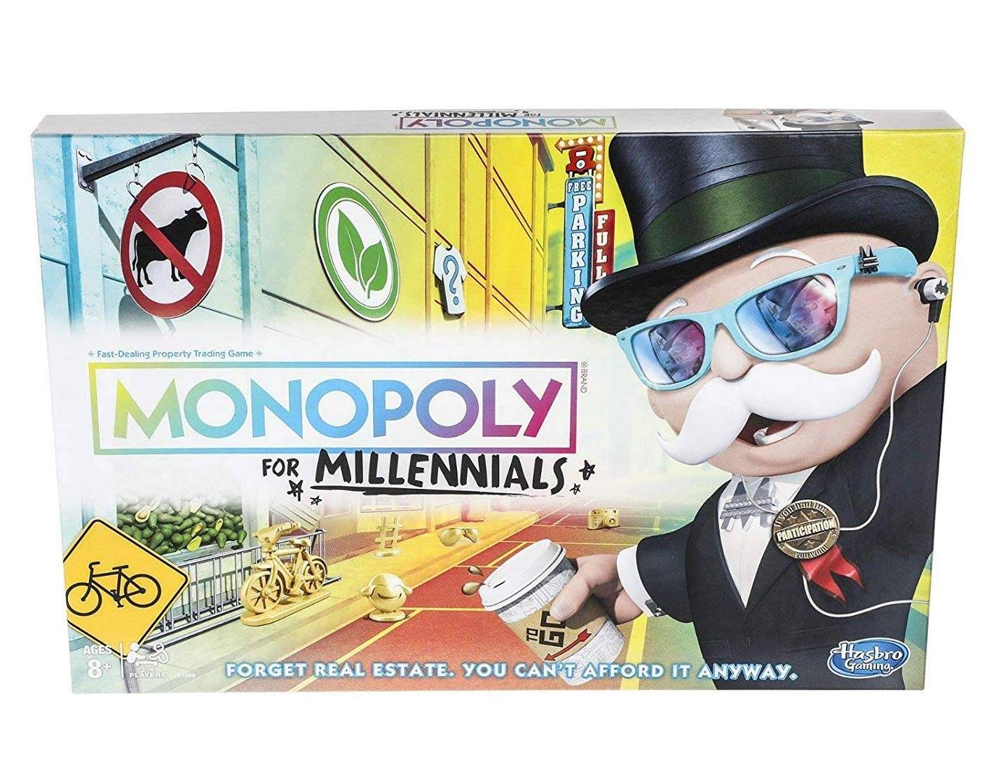 Monopoly for Millennials - coolthings.us