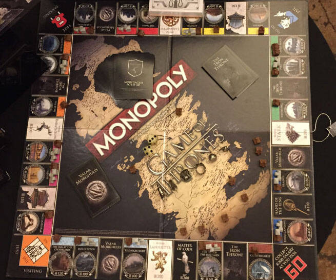 Game of Thrones Monopoly - http://coolthings.us