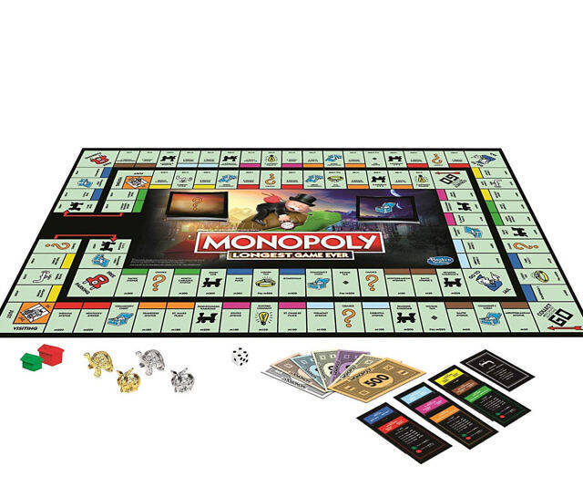 Monopoly Longest Game Ever Edition - coolthings.us
