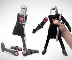 Monty Python Knight Plushie - http://coolthings.us