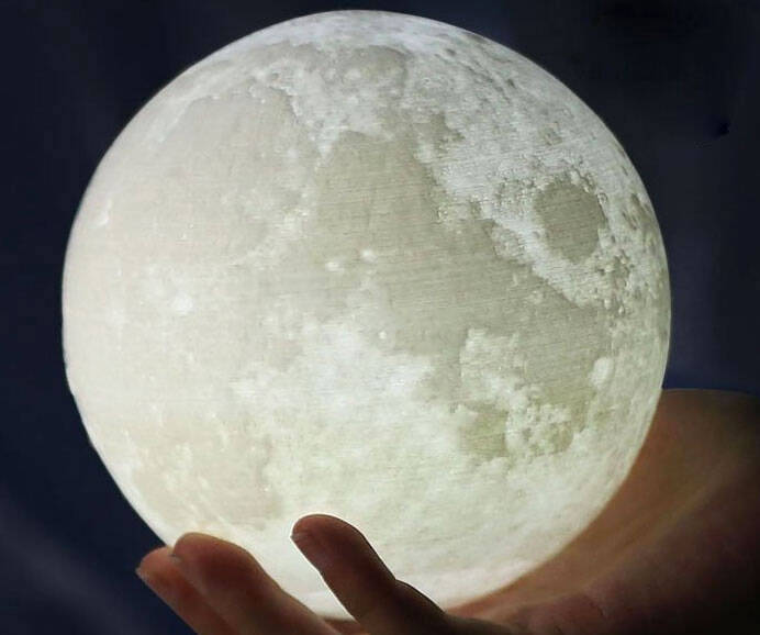 Moon Night Light - http://coolthings.us