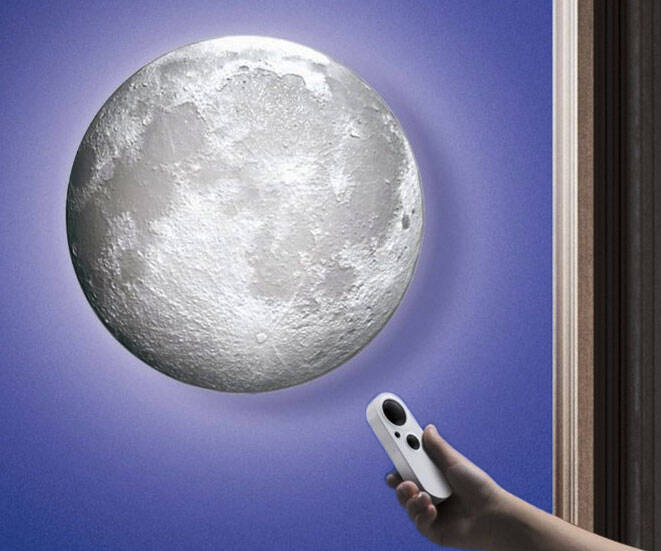 Moon Wall Light - http://coolthings.us