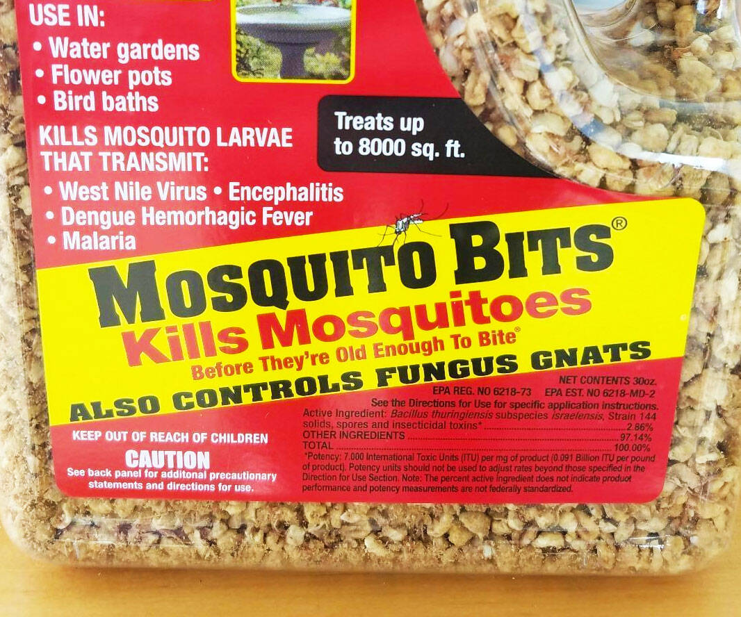 Biological Mosquito Control Bits - http://coolthings.us