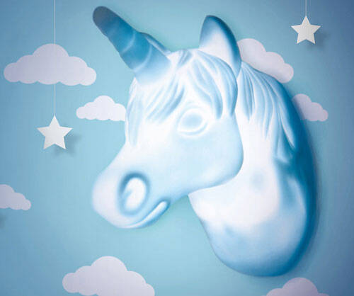 Motion Activated Unicorn Light - http://coolthings.us