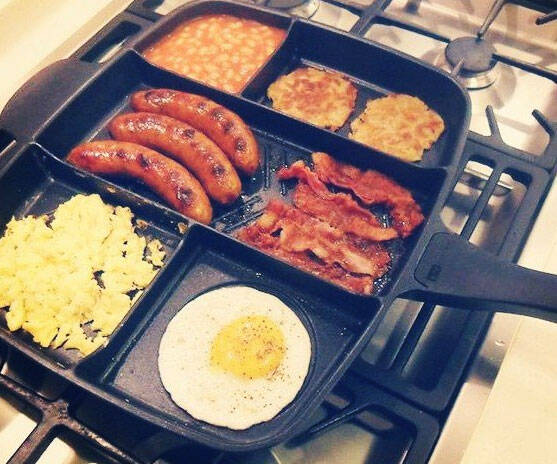 The Ultimate Multi-Sectional Skillet - http://coolthings.us