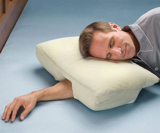Arm Sleeper Pillow - http://coolthings.us