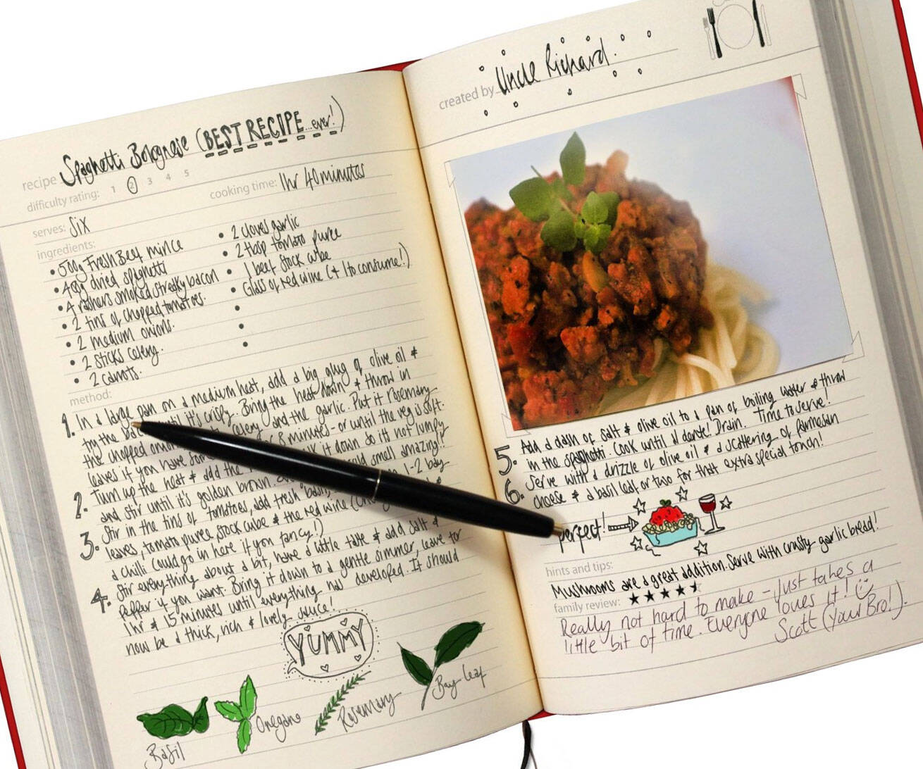 My Family Recipe Notebook - http://coolthings.us