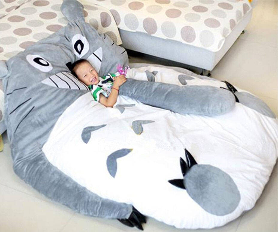 My Neighbor Totoro Sleeping Bag Sofa Bed - http://coolthings.us