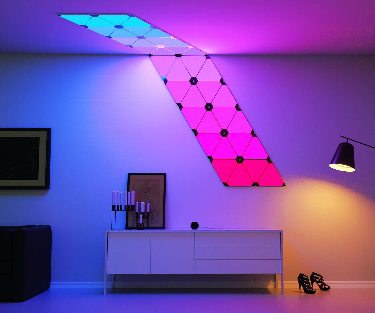 Modular Smart Lighting Panels - http://coolthings.us