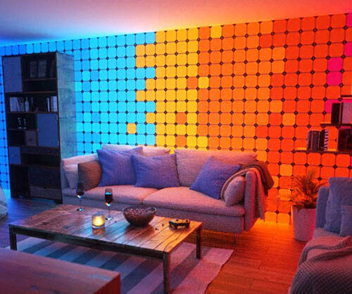Color Changing Light Panels - http://coolthings.us