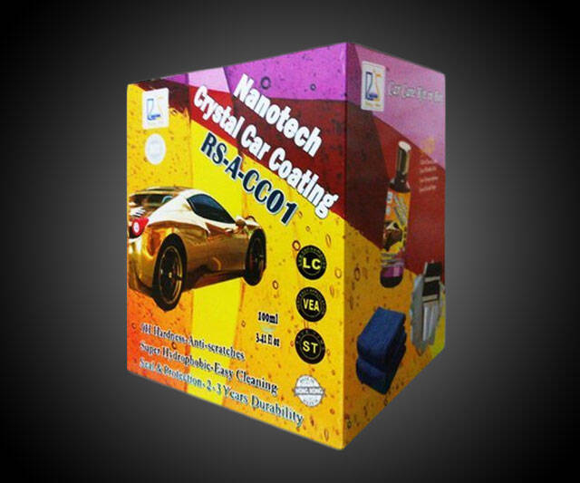 Nanotech Crystal Protective Car Coating - http://coolthings.us