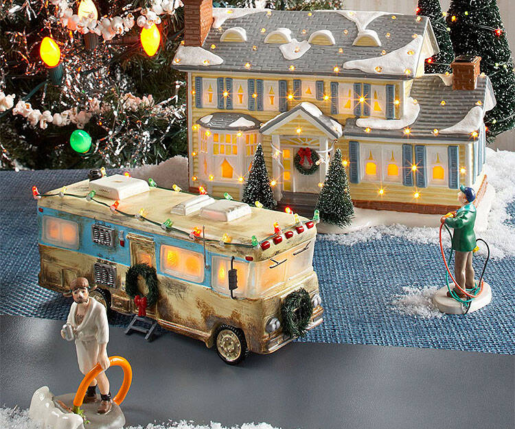 National Lampoon's xmas Vacation Village - coolthings.us