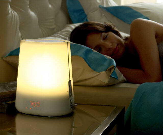 Natural Sunrise Alarm Clock - http://coolthings.us