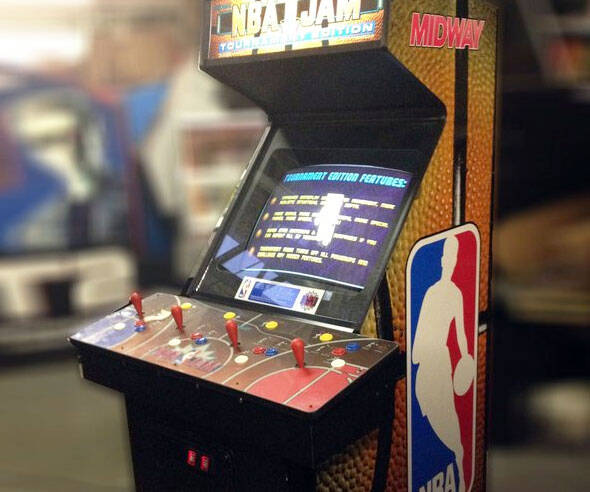 NBA Jam Arcade Machine - http://coolthings.us