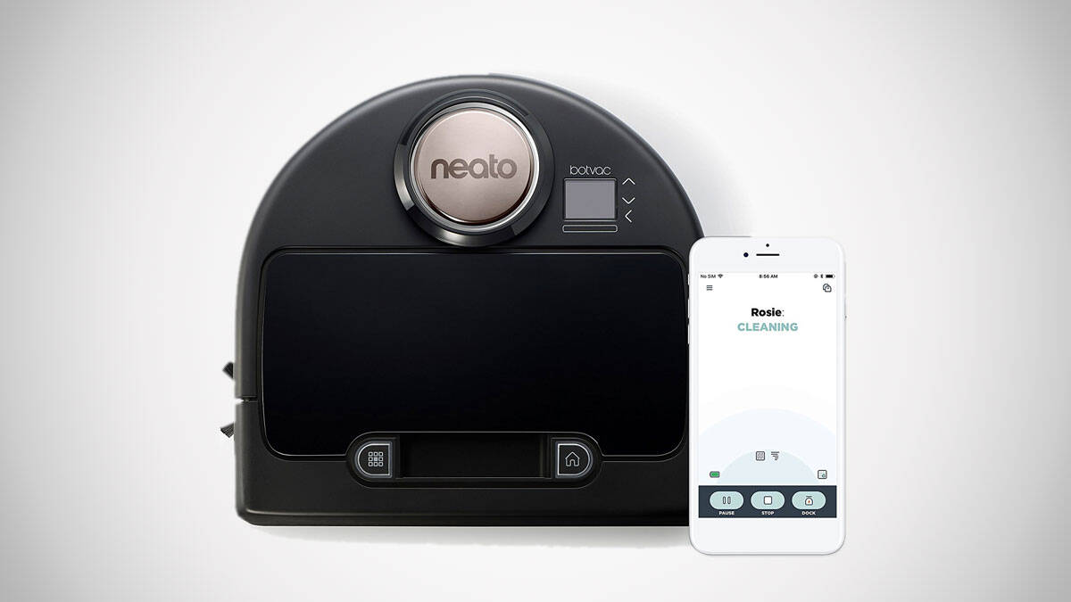 Wi-Fi Enabled Robot Vacuum - http://coolthings.us