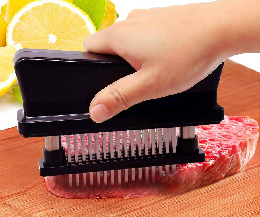 Needle Blade Meat Tenderizer - http://coolthings.us