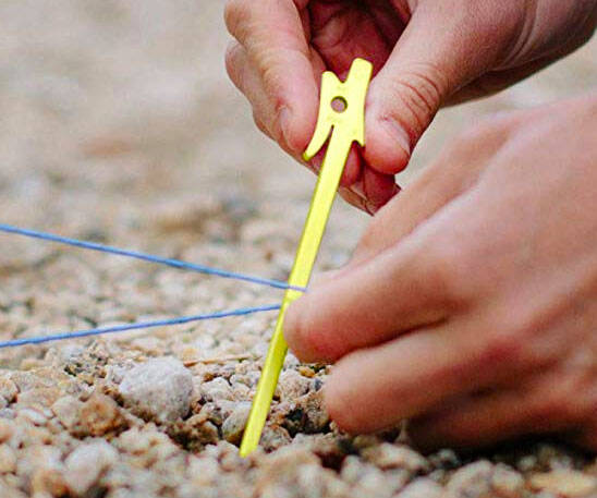 Airpin Ultralight Tent Stakes - http://coolthings.us