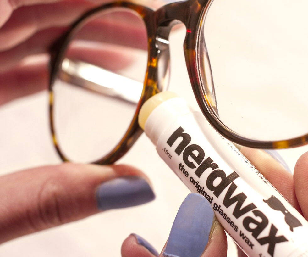 Nerdwax Glasses Grip - http://coolthings.us
