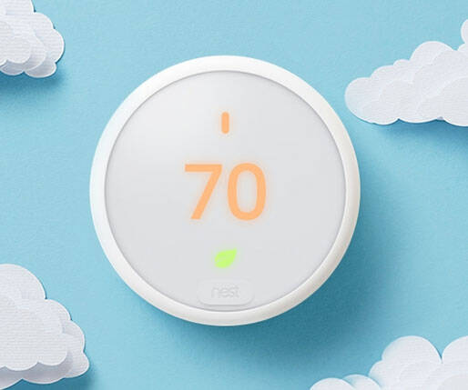 Nest Thermostat E - http://coolthings.us