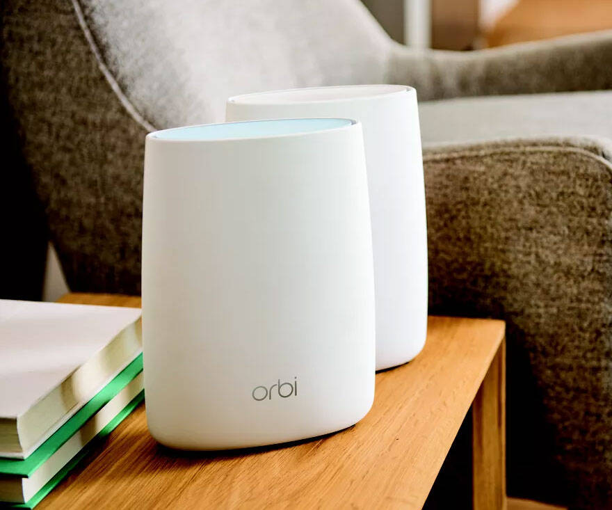 Orbi Mesh WiFi 6 System - http://coolthings.us