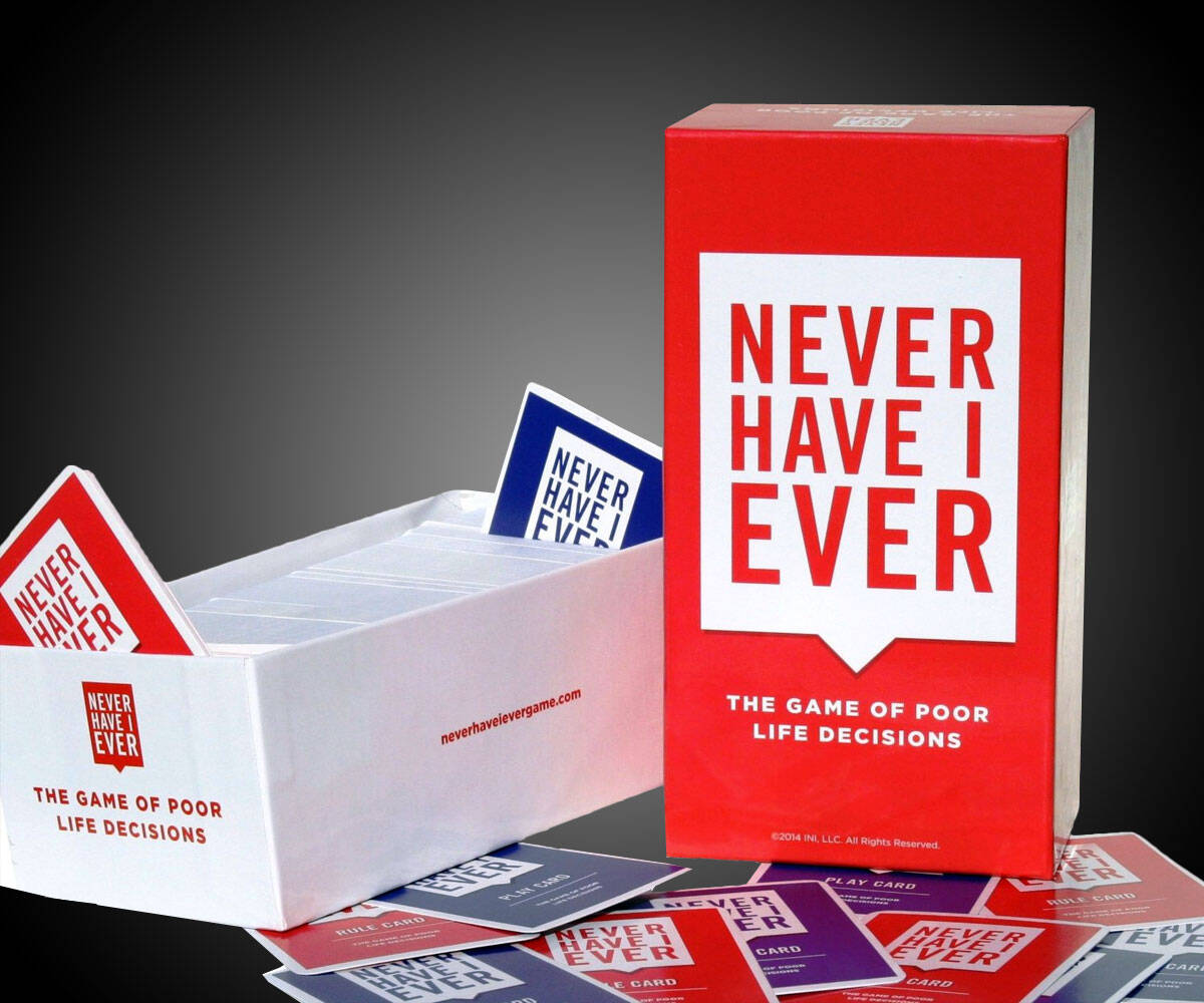 Never Have I Ever Card Game - http://coolthings.us