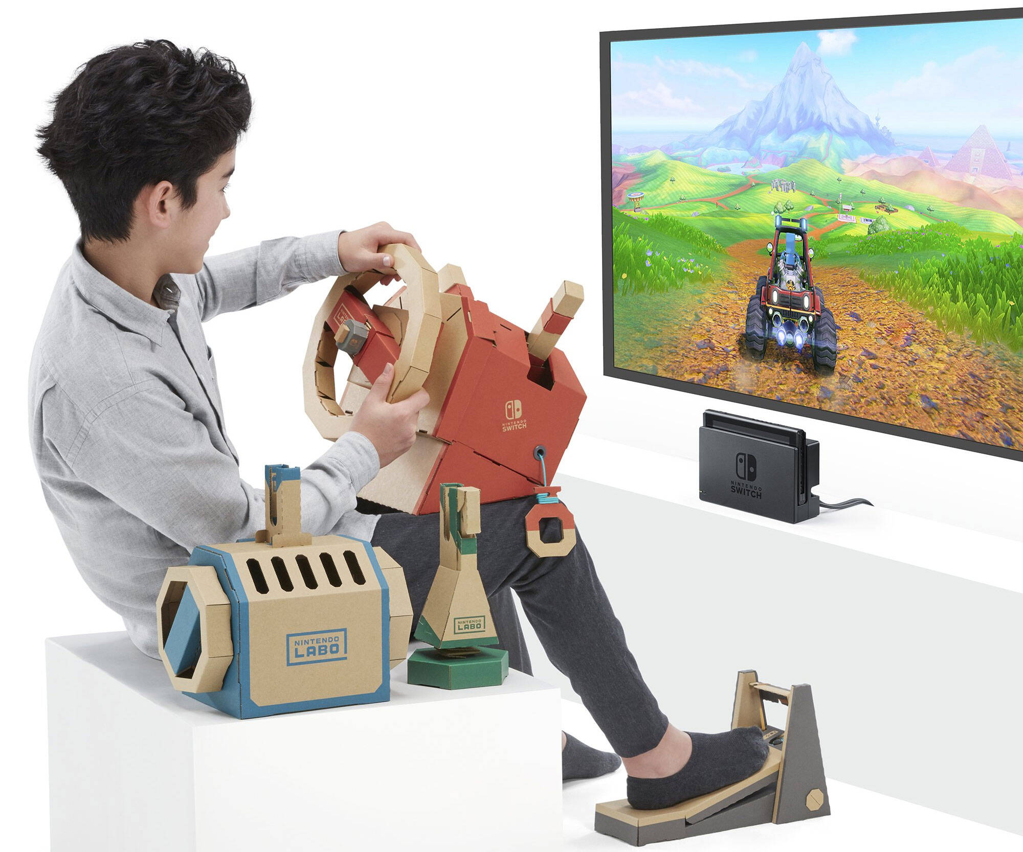 Nintendo Labo Vehicle Kit - http://coolthings.us