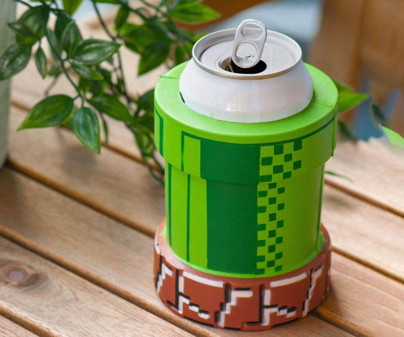 Nintendo Warp Pipe Can Cooler