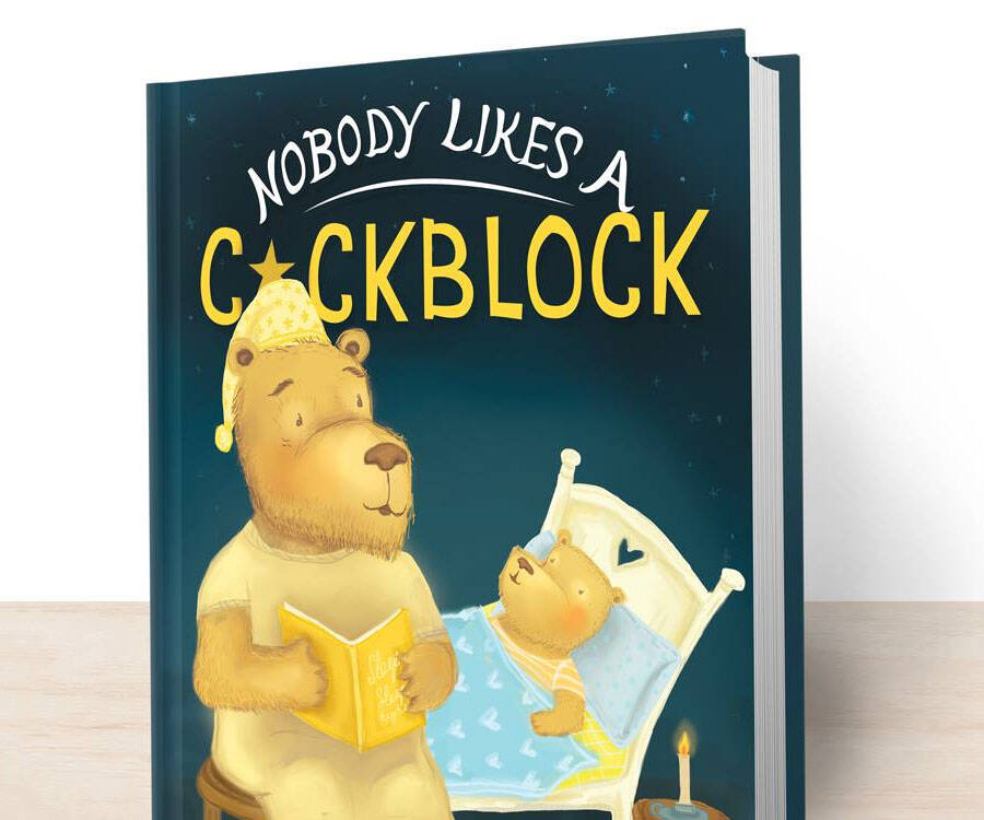 Nobody Likes A Cockblock Book - http://coolthings.us