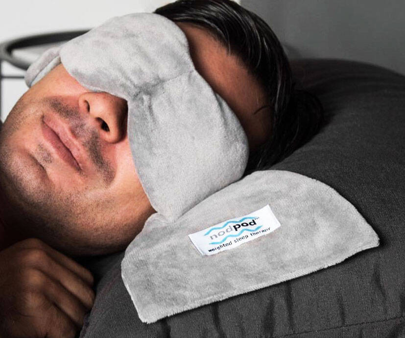 The Weighted Sleep Mask - http://coolthings.us