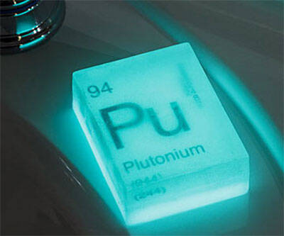Nuclear Element Soap Bars - http://coolthings.us