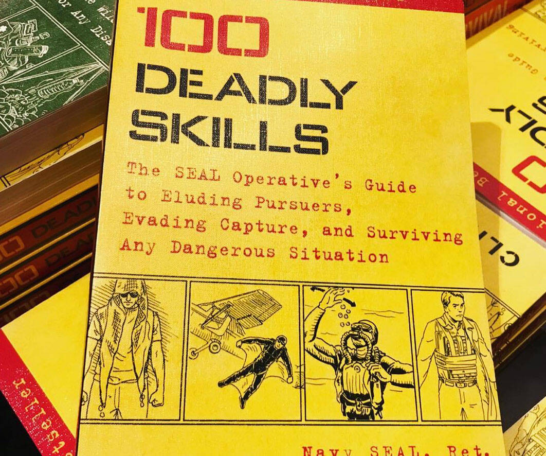 100 Deadly Skills Book - http://coolthings.us