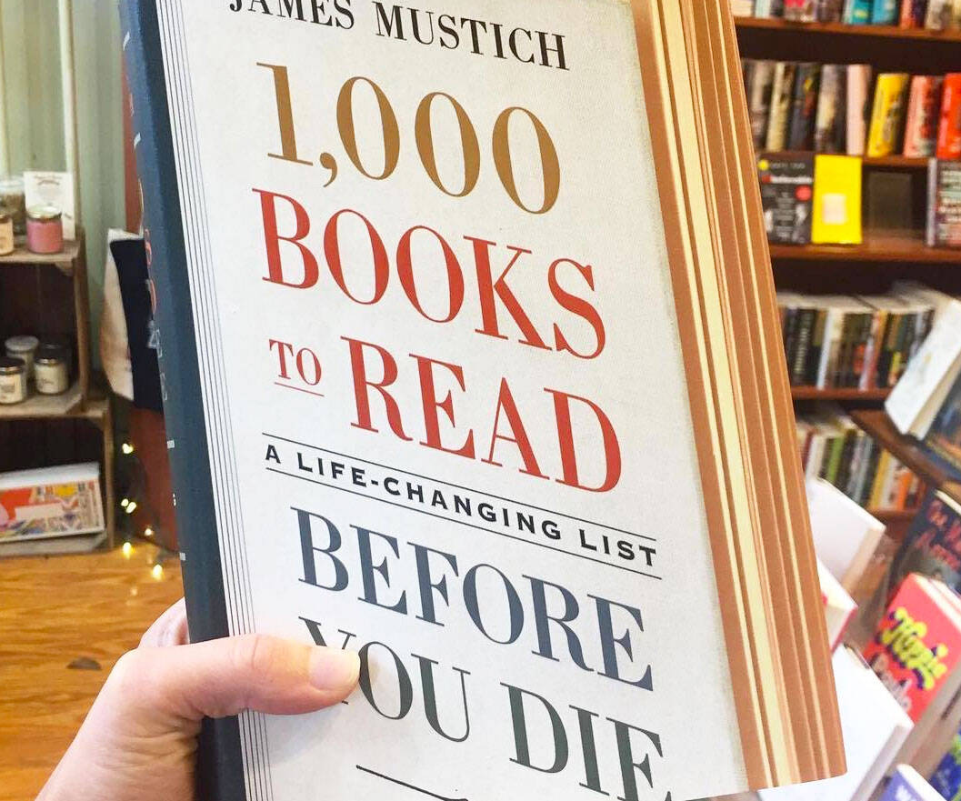 1,000 Books To Read Before You Die - http://coolthings.us