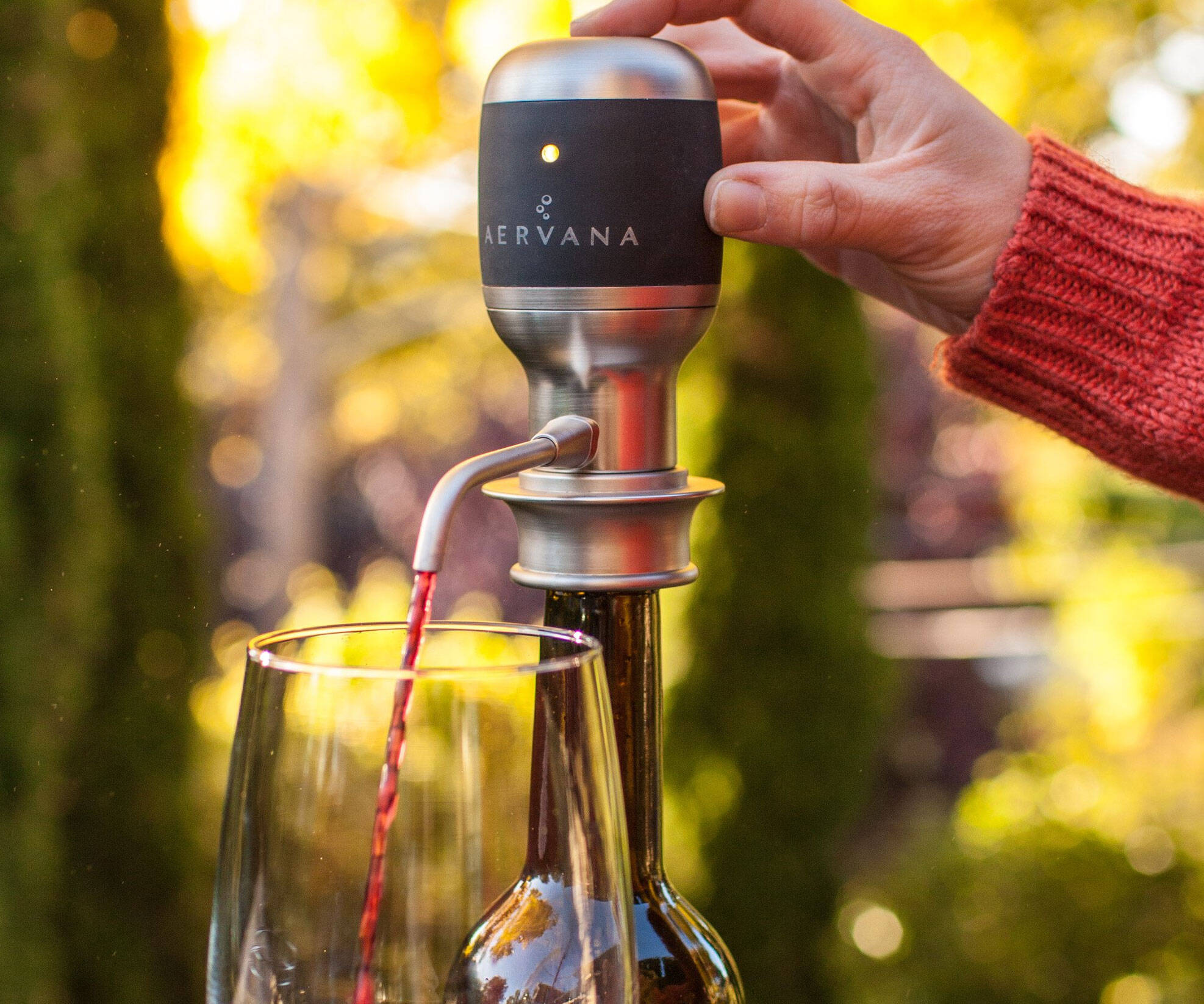 One Touch Wine Aerator - http://coolthings.us