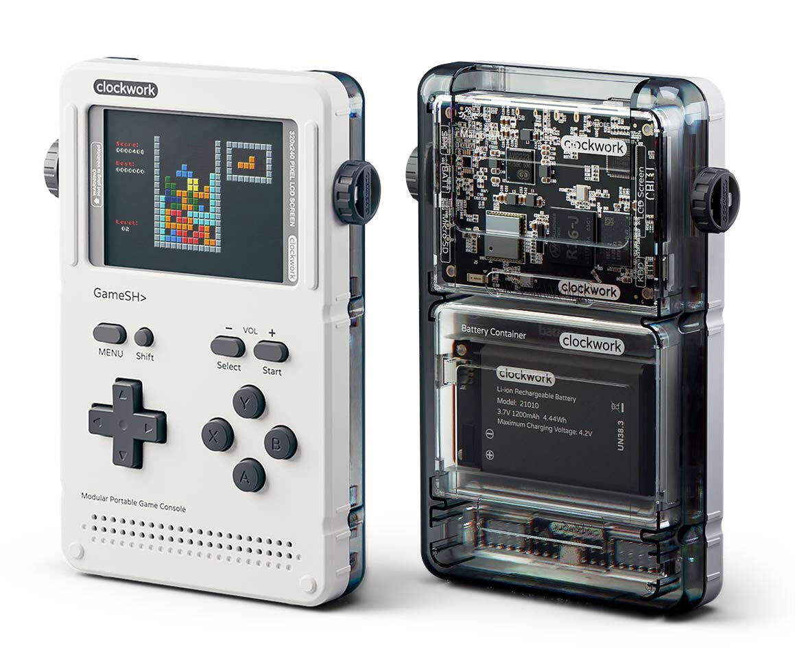 GameShell - Open Source Portable Game Console - http://coolthings.us