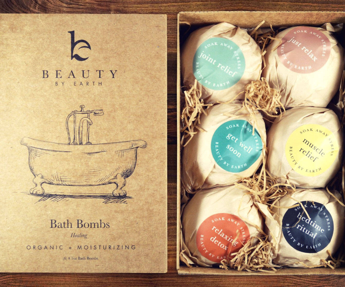 Organic Bath Bombs - http://coolthings.us