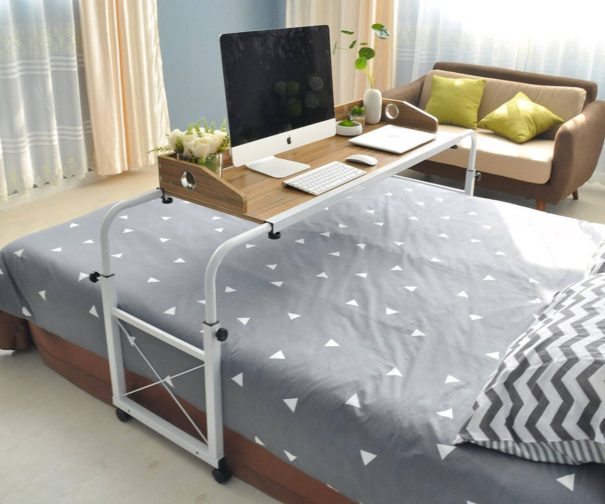 Overbed Work Desk & Table - coolthings.us