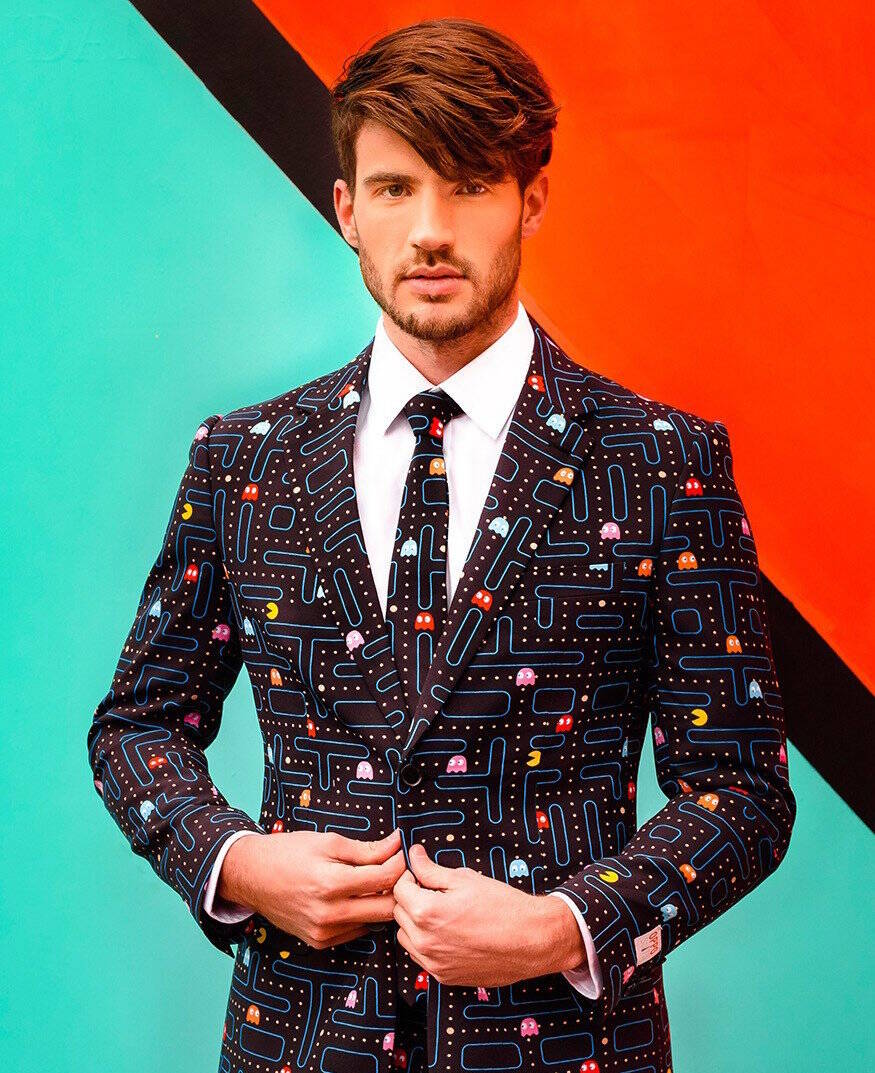 Pac-Man Suit - http://coolthings.us