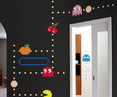 Pac-Man Wall Stickers