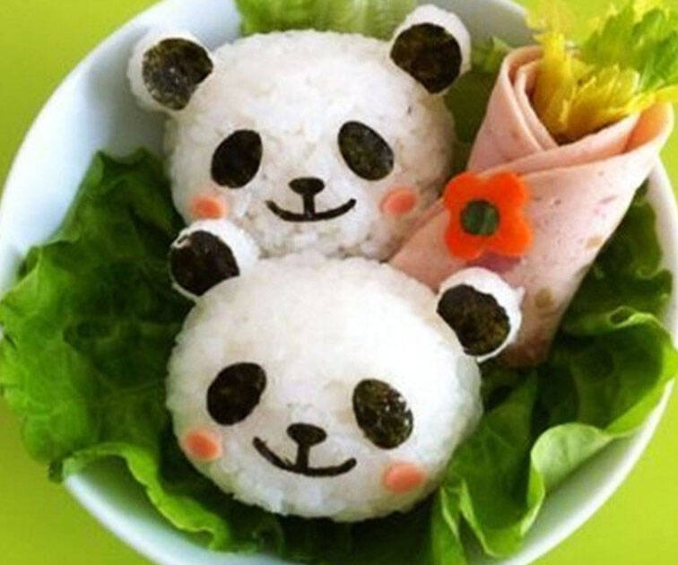Panda Rice Mold - http://coolthings.us