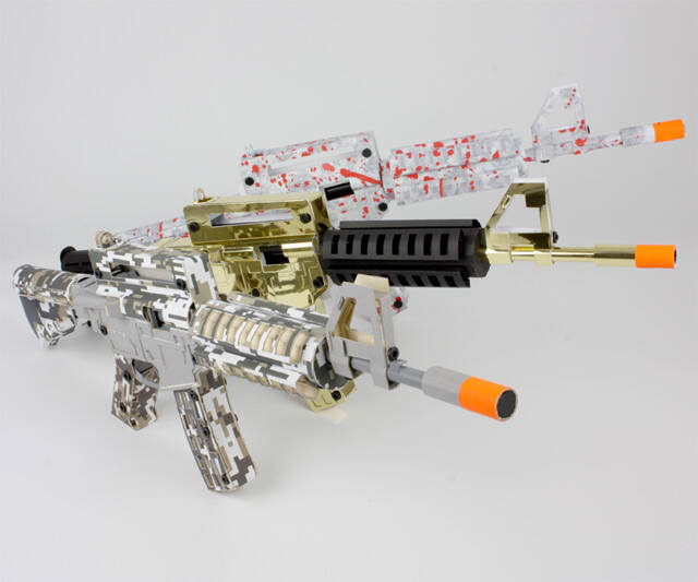 Paper Shooter Kits - http://coolthings.us
