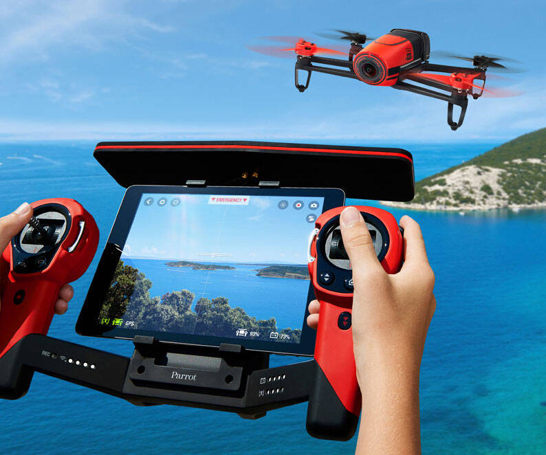 Remote Control Camera Quadrocopter - http://coolthings.us