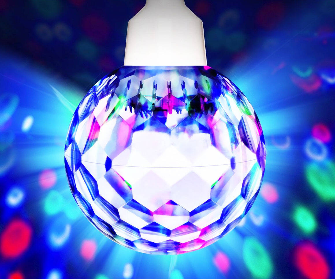 Party Light Ball - http://coolthings.us