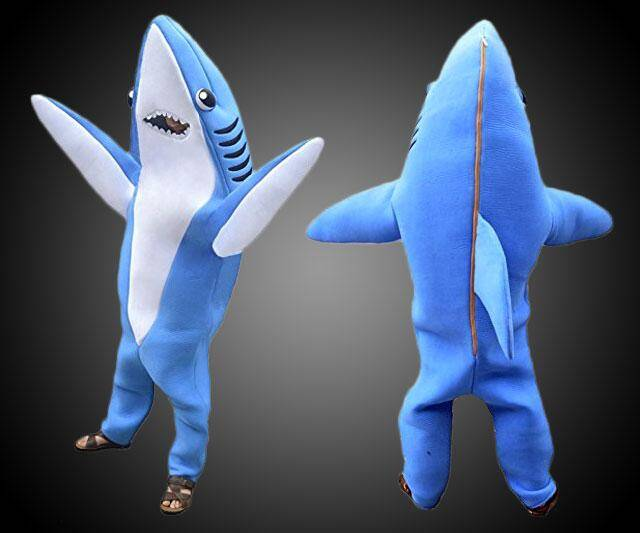 Party Shark Costume (made famous by Katy Perry) - http://coolthings.us