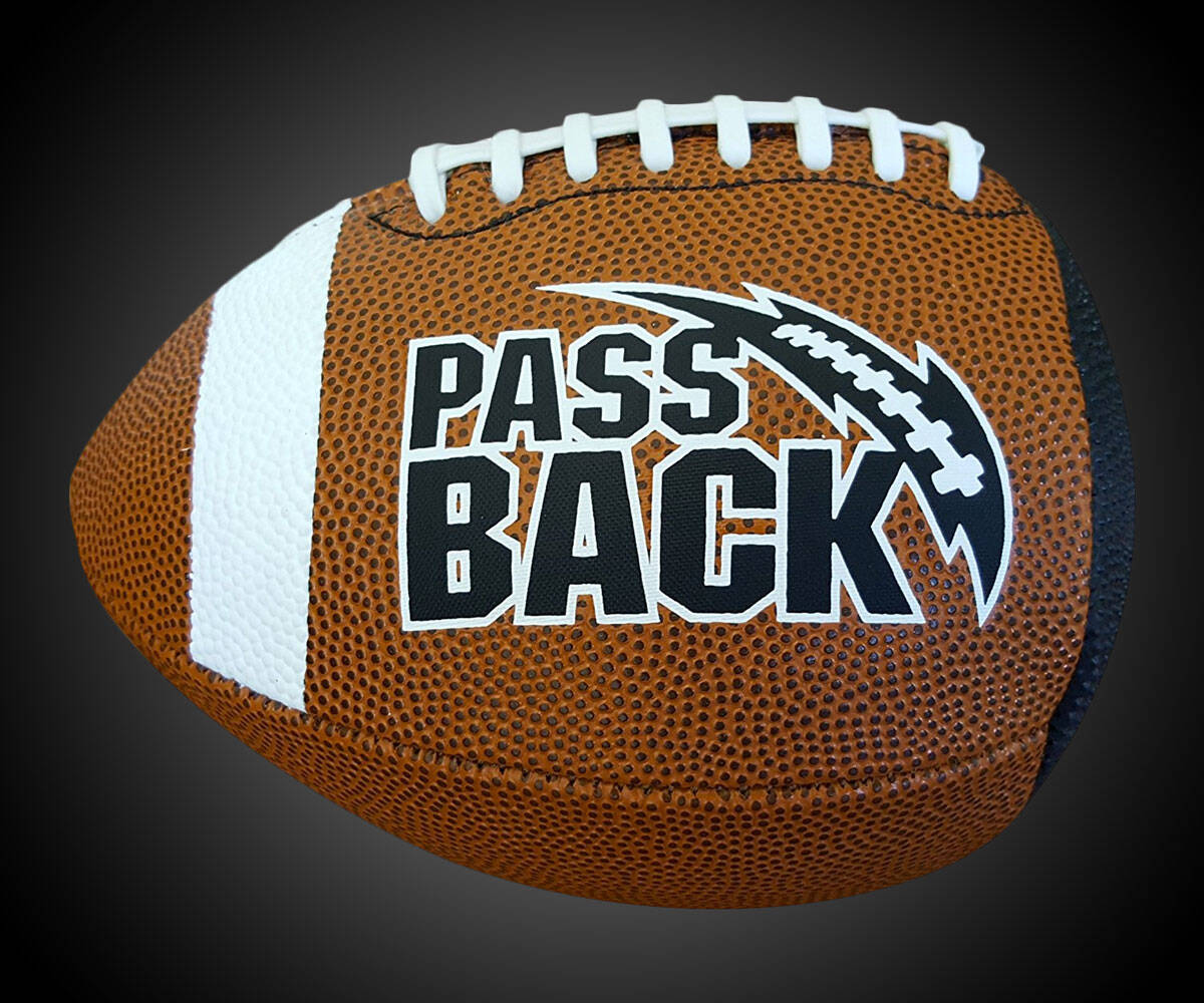 Passback Practice Football - http://coolthings.us