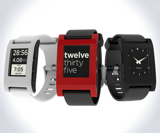 Pebble E-Paper Smartphone Watch - http://coolthings.us