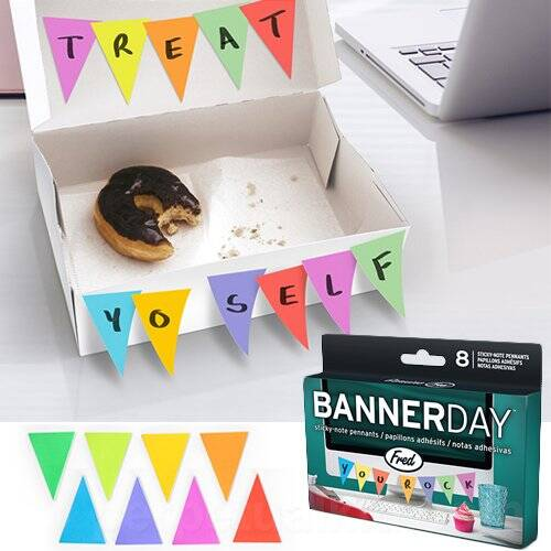 Banner Shaped Sticky Notes