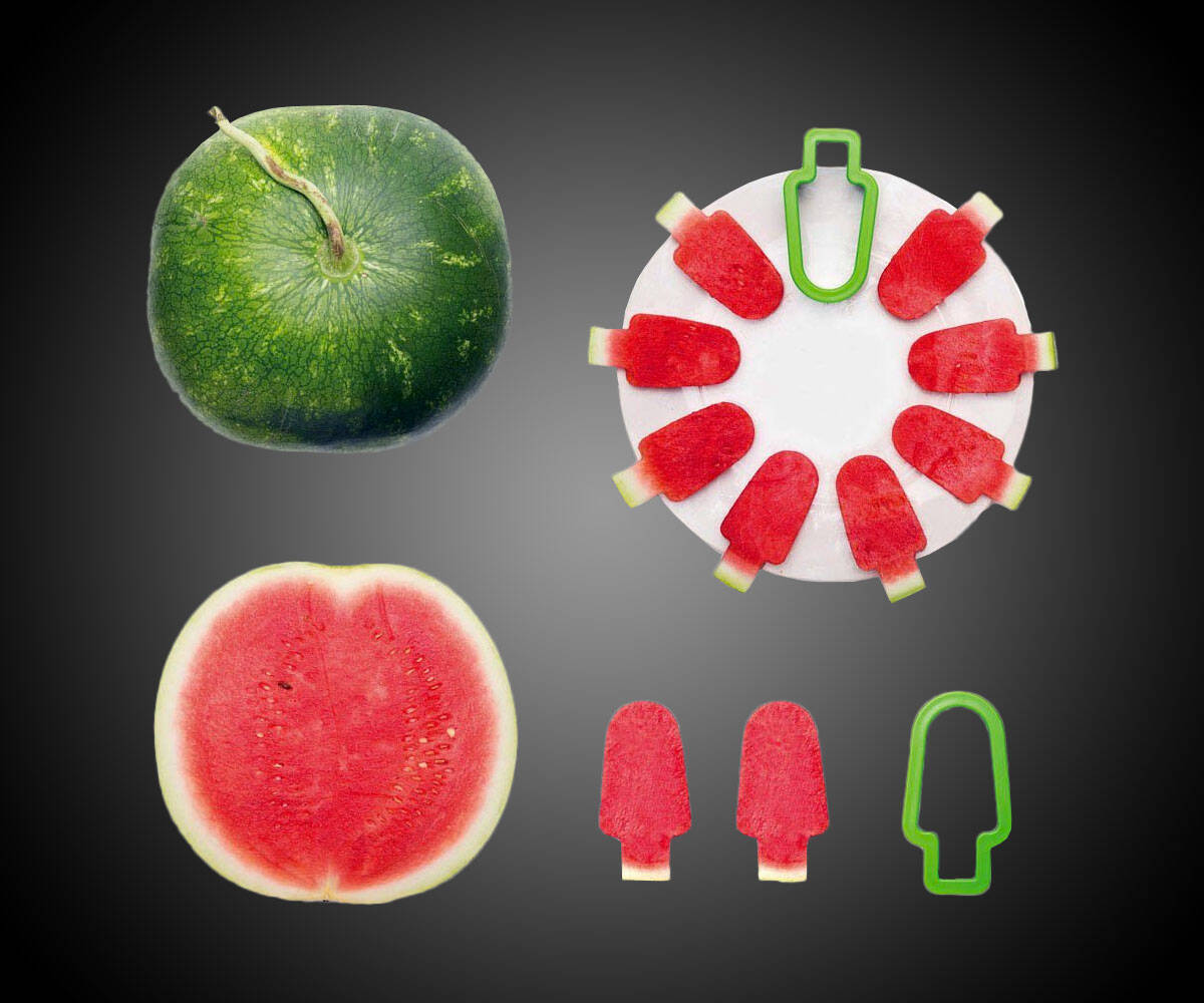 Popsicle Watermelon Slicer - http://coolthings.us